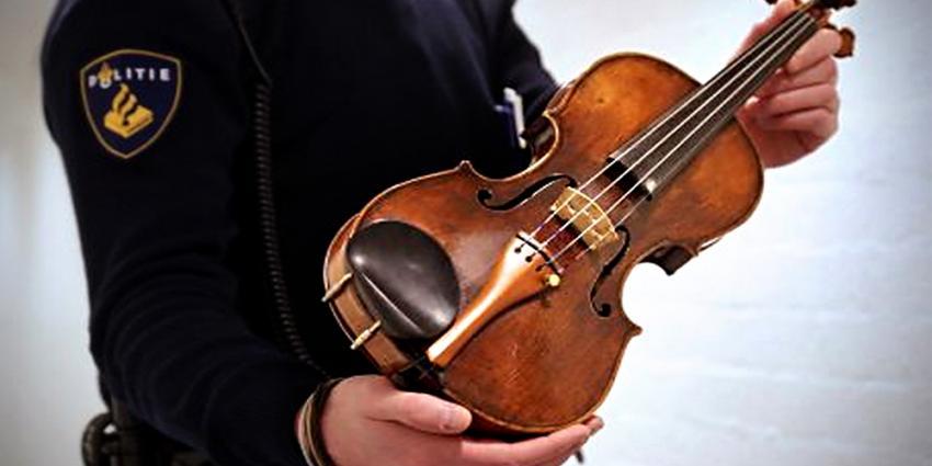 Foto van Landolfi viool | Politie