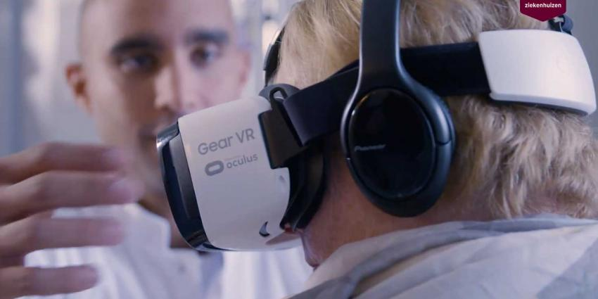 Proef met virtual reality voor ic-patiënt