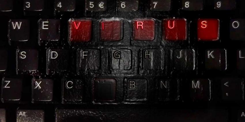 Foto van virus computer toetsenbord | Archief EHF