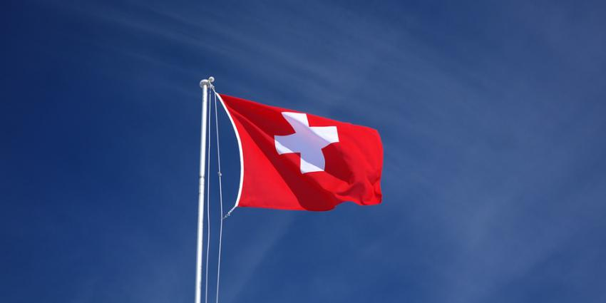Foto van vlag Zwitserland