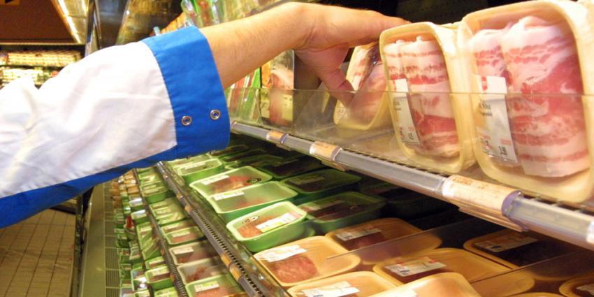 Foto van vlees in supermarkt | Archief EHF