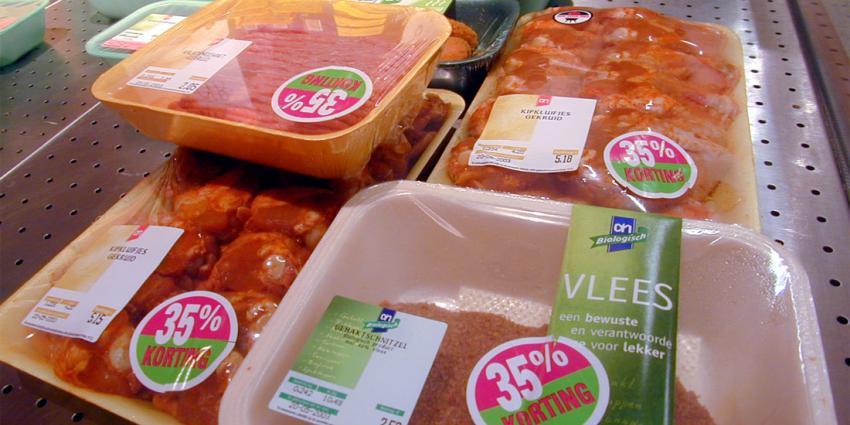 Aandeel fout vlees in schappen stijgt weer