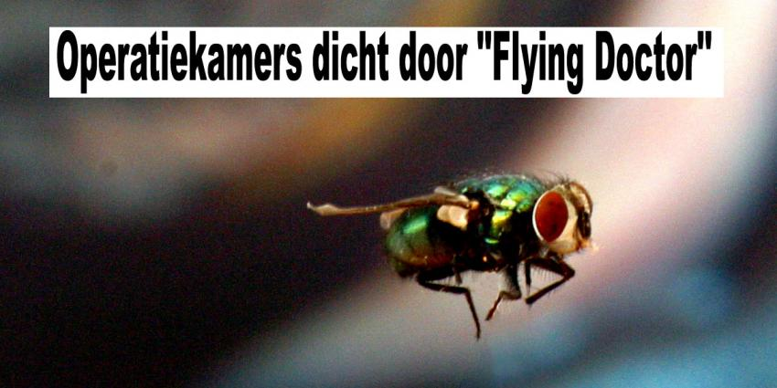 Operatiekamers dicht door ''Flying Doctor''