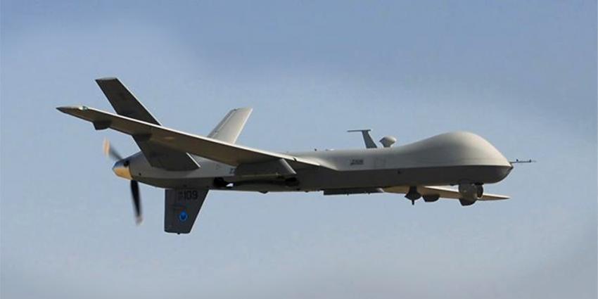 Foto van onbemand vliegtuig Reaper | Min. Defensie