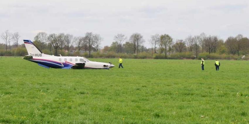 Foto van noodlanding vliegtuig | Foto Hammie