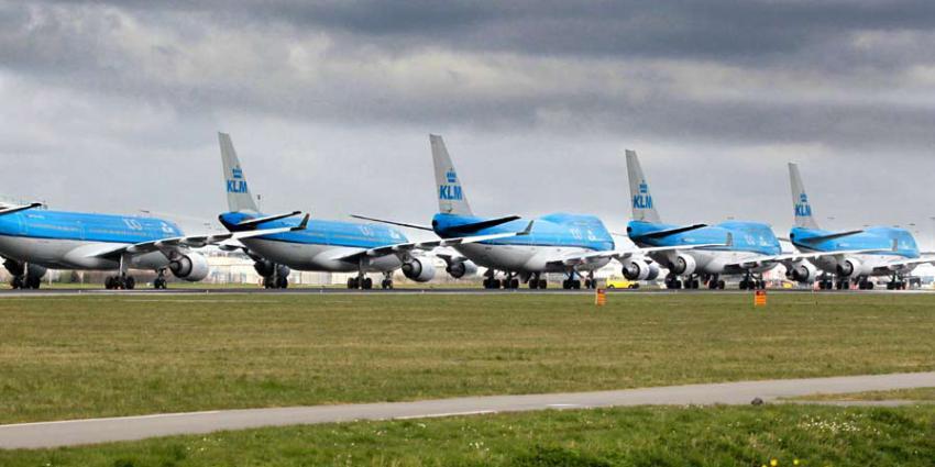 Nog geen akkoord KLM met vakbonden over loonkorting