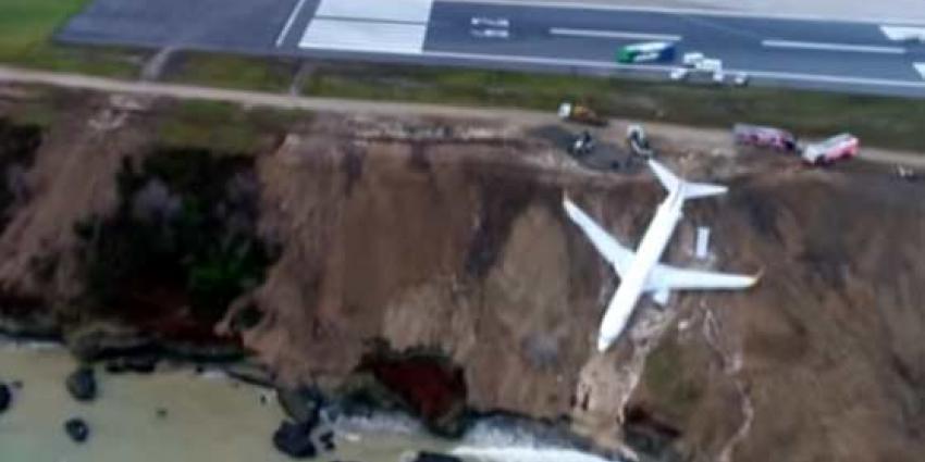 Vliegtuig crasht bijna in de Zwarte Zee