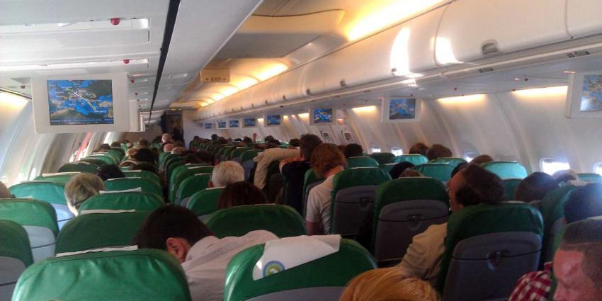 Forse stijging van meldingen over verstorende vliegtuigpassagiers