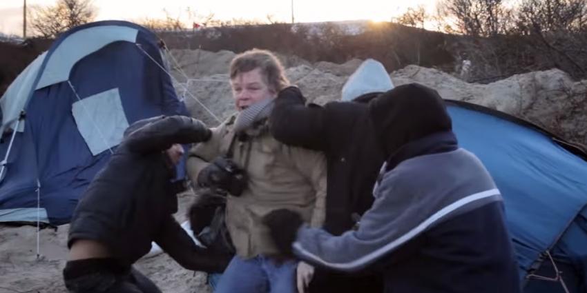 Nederlanders aangevallen door vluchtelingen in Calais