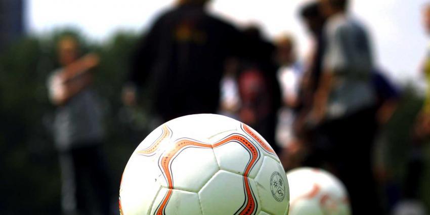 Potje voetbal loopt uit de hand