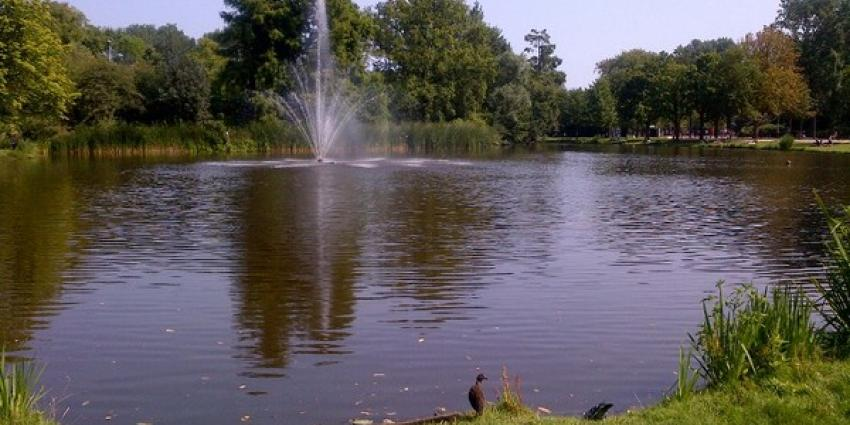 Wie kent verdronken man Vondelpark?