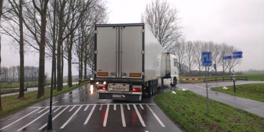 Steeds meer Hollandse vracht via Oost-Europese trucks de grens over