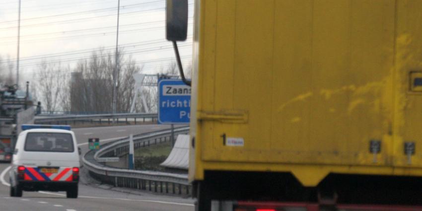 Vluchtelingen aangetroffen in vrachtauto