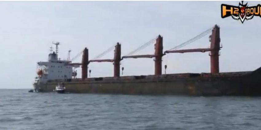 vs, beslag leggen, noord-koreaans, vrachtschip