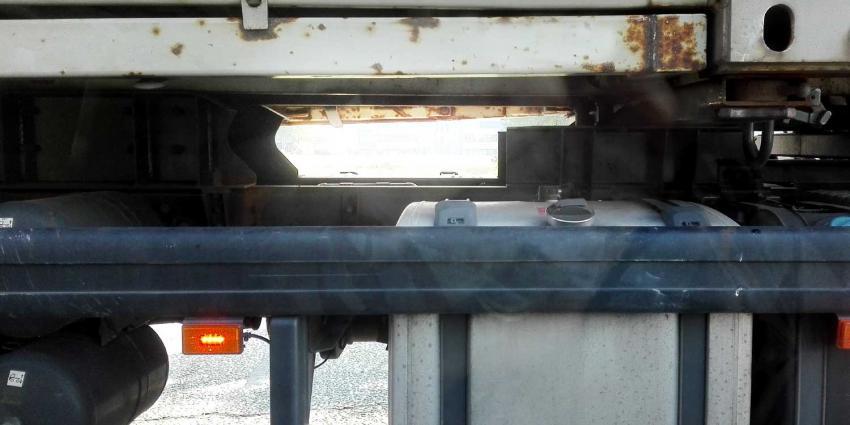 vrachtwagen-container
