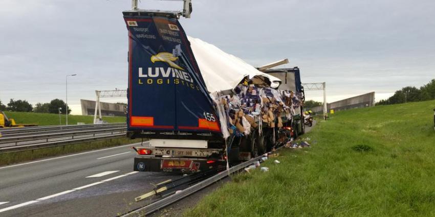Dronken vrachtwagenchauffeur doopt Drechttunnel om tot 'Fristitunnel'