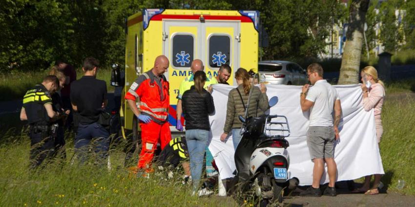 Traumateam uit Nijmegen voor zwaargewonde vrouw in Vlaardingen