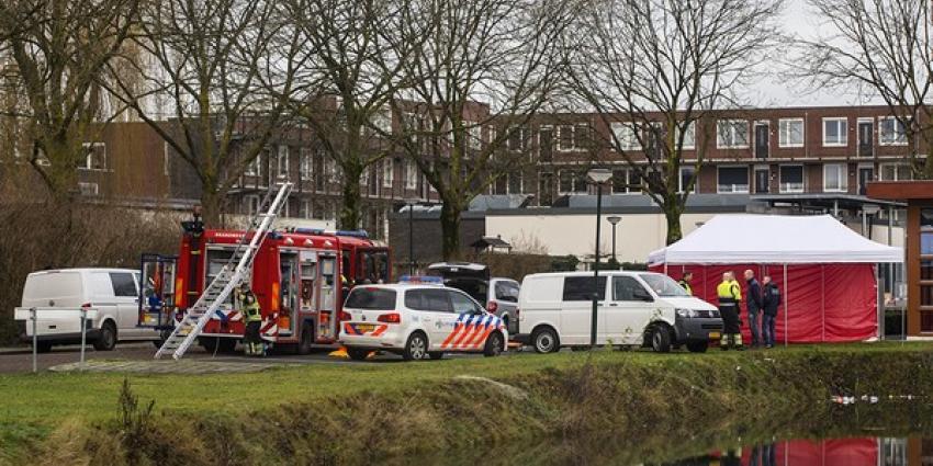 Vrouw in vijver aangetroffen | Persburo Sander van Gils | www.persburausandervangils.nl