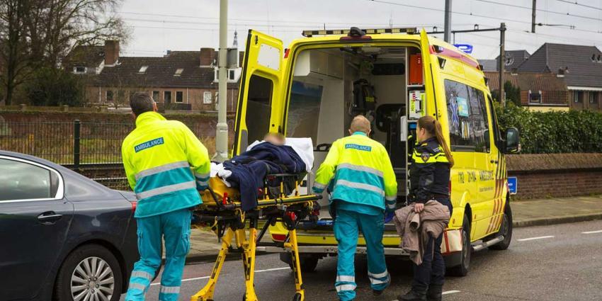 Vrouw op fiets gewond bij ongeval in Boxtel