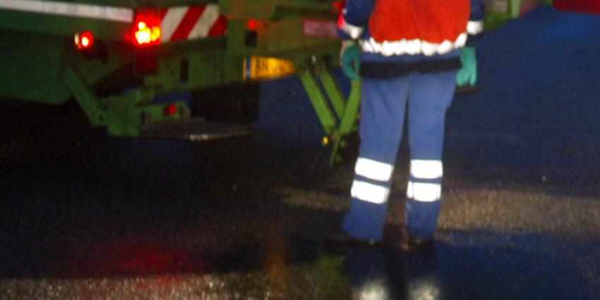Vuilnisman in Breda opzettelijk aangereden