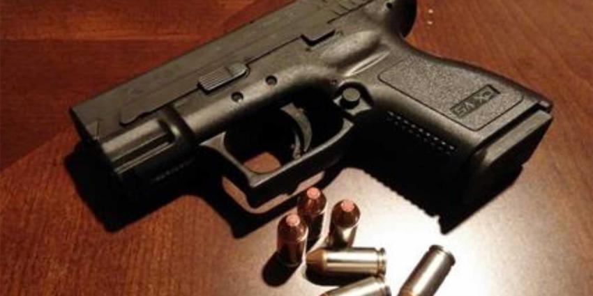 Man aangehouden voor dreigen met vuurwapen