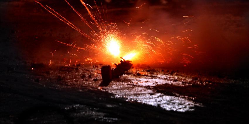 Foto van vuurwerk matje   Archief EHF