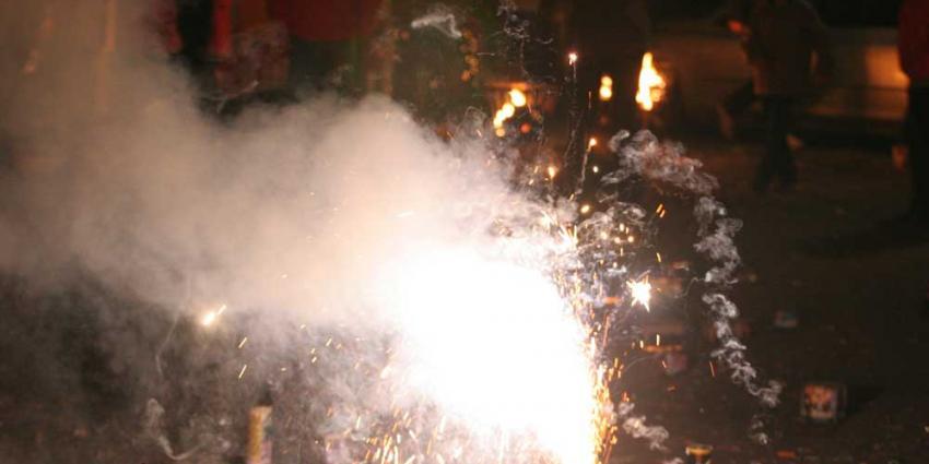 Vuurwerk zorgt voor smog door fijnstof