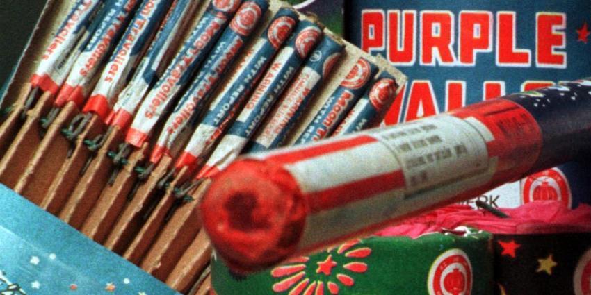 Politie neemt 400 kilo vuurwerk in beslag