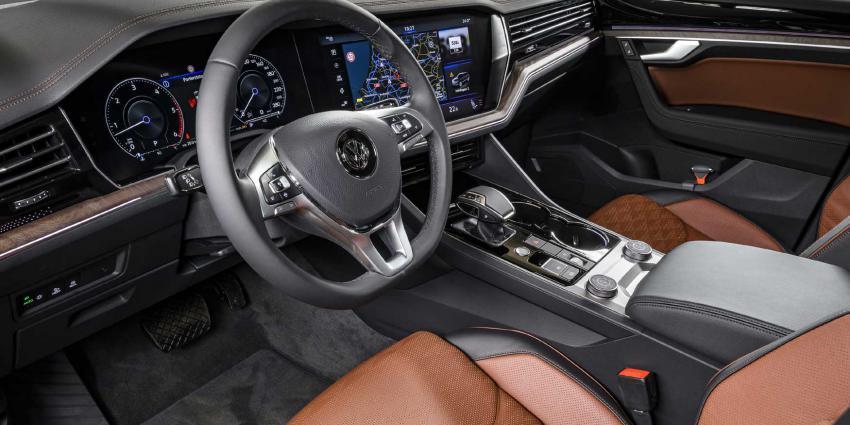 VW Touareg nu ook leverbaar met 3.0 V6 TSI benzinemotor