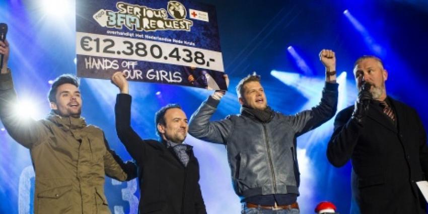 Serious Request 2014 levert 12.380.438 euro op