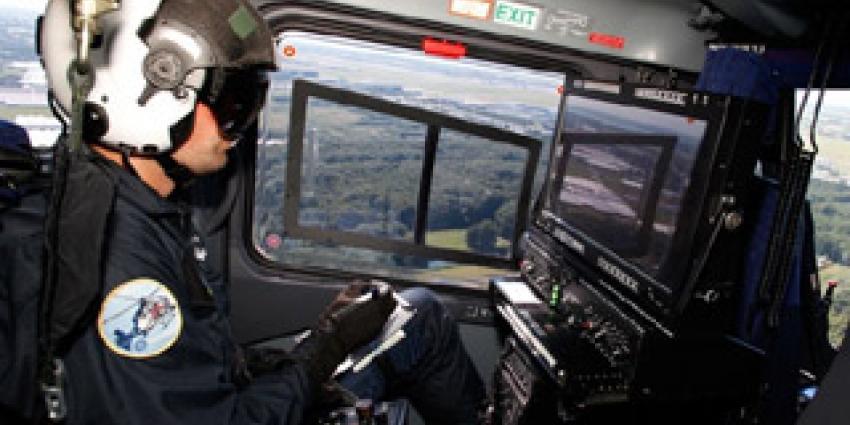 Foto van helikopterpiloot