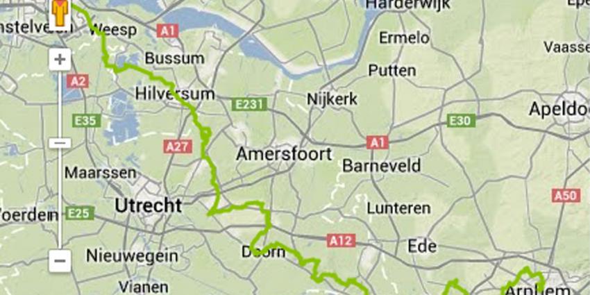 Foto van wandelroute Amsterdam Arnhem | ANWB
