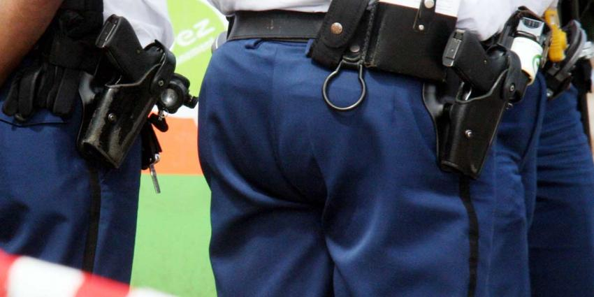 Politie schiet bij aanhouding bankovervaller