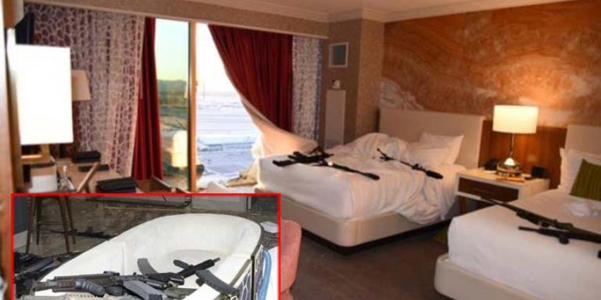 Politie geeft nieuwe foto's vrij van hotelkamer schutter Las Vegas