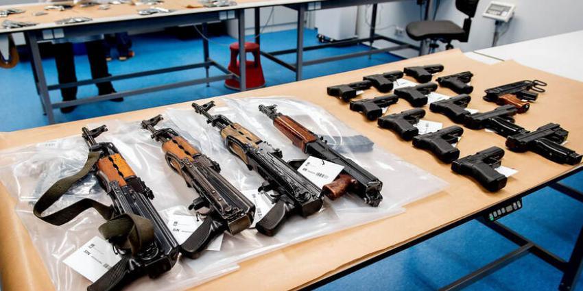 in  beslag genomen wapens