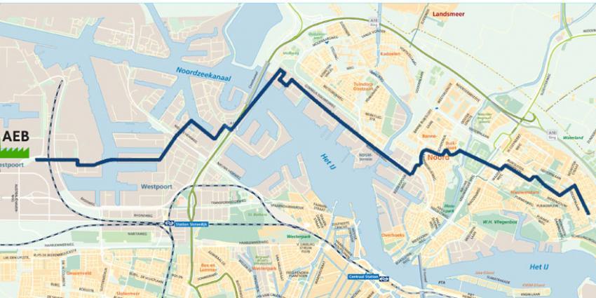Groen licht voor Amsterdamse warmtetransportleiding