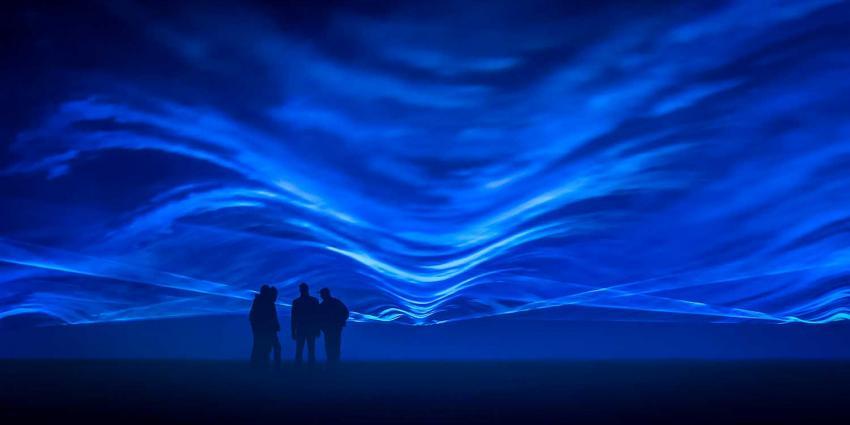 Project 'Waterlicht' van Daan Roosegaarde begin februari in Leeuwarden
