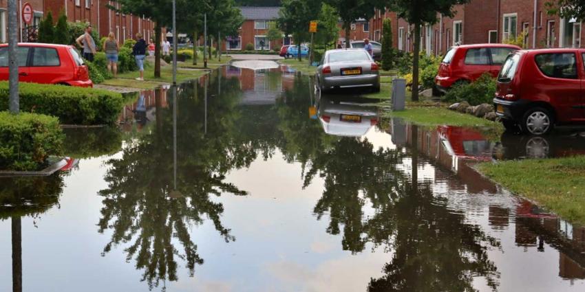 Na zonneschijn komt regen, onweer en wateroverlast
