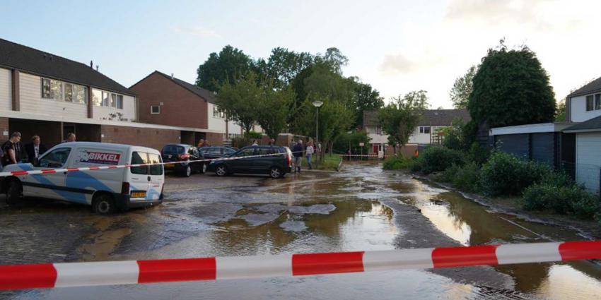 wateroverlast-straat