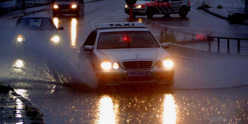 Schade door extreme regenval vannacht minstens 5 miljoen euro