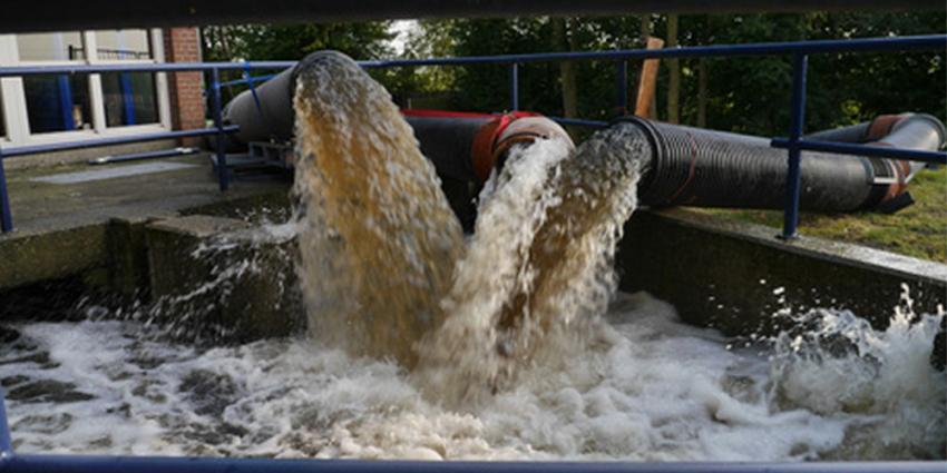 Maatregelen waterschap bij Kockengen na hevige regenval