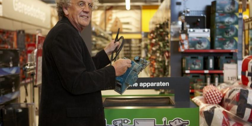 Miljoenen elektrische gereedschappen wachten op recycling