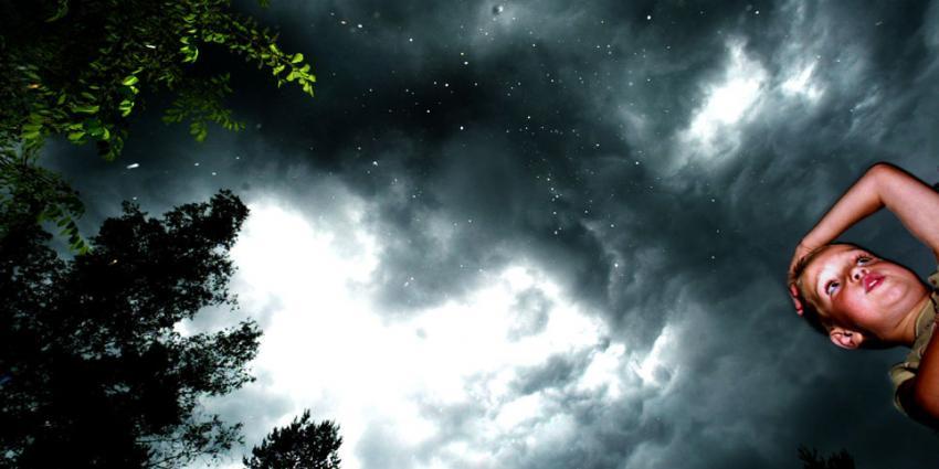 Donderdag code geel voor onweersbuien met hagel en windstoten