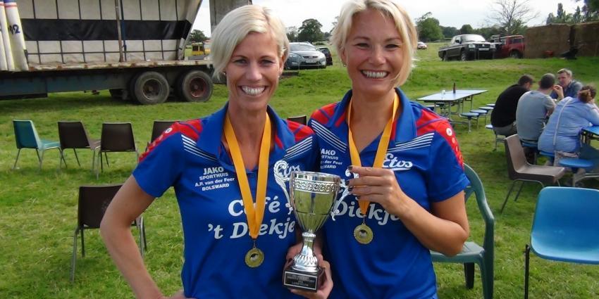 Wereldkampioenen Eierwerpen komen uit Bolsward