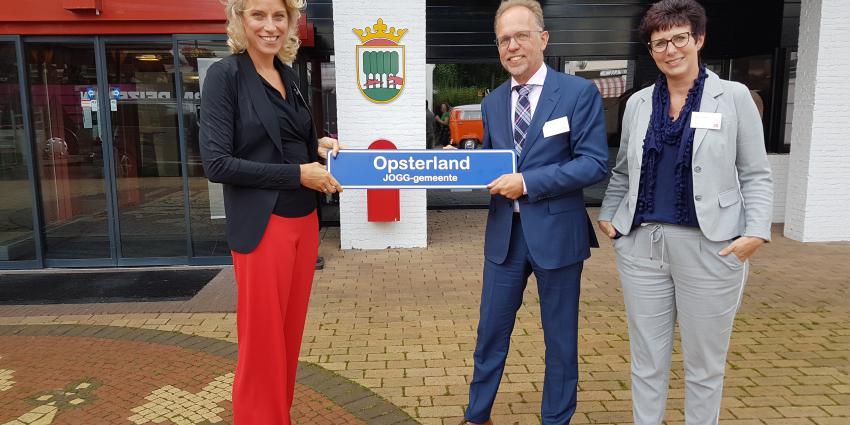 Ook gemeente Opsterland is nu een JOGG-gemeente