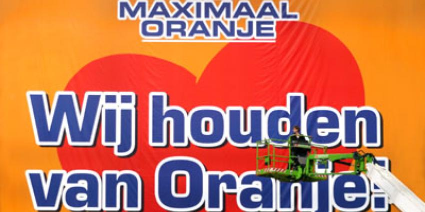 Oranje, selectie, Rotterdam The Hague Airport, WK