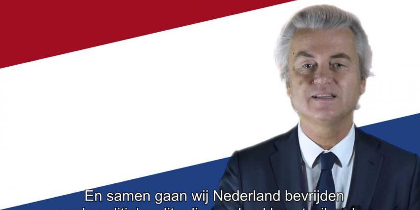 Aangiften tegen PVV-campagnefilmpje geseponeerd