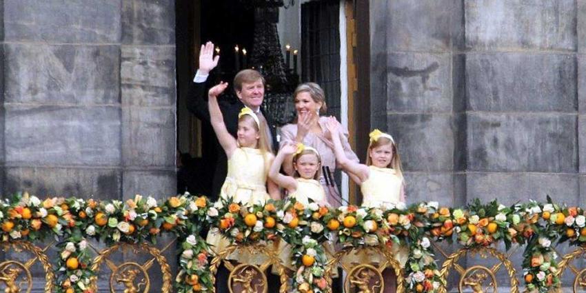Foto van koning Willem Maxima en kinderen | BON