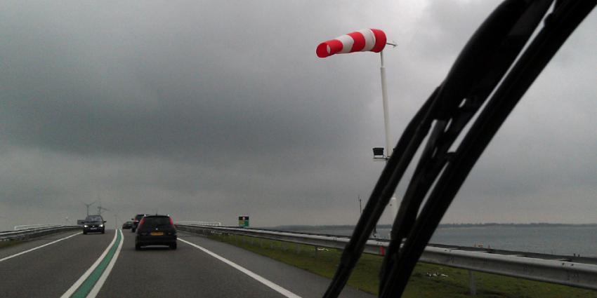 Opnieuw waarschuwing van KNMI voor zware windstoten
