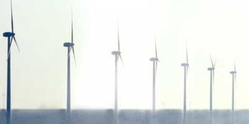Foto van windmolenpark op zee | Archief EHF